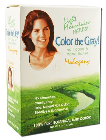 Light Mountain Color The Gray Mahogany   7 Fl Oz
