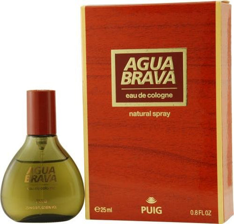 Agua Brava By Antonio Puig For Men Eau De Cologne Spray .8 Oz