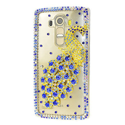 STENES Sparkly Pretty Peacock Case For Huawei Mate 10 Pro - Blue