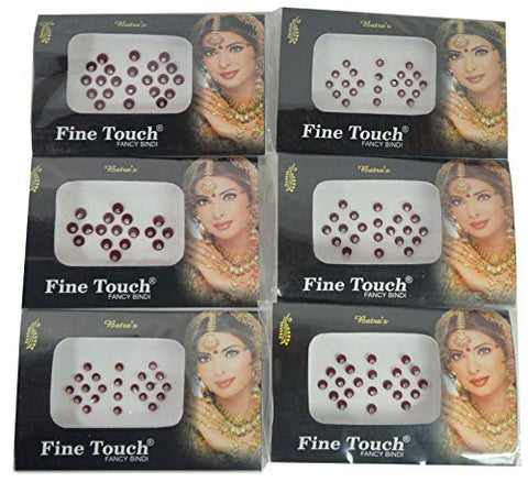 IFH Indian Jewelry Stickers Bindi Temporary Tattoo Forehead Assorted Sticker Lot of 20 Packs