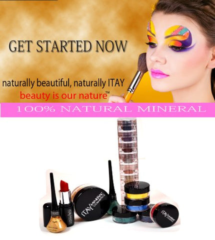 ITAY Mineral Cosmetics Get Started Kit with