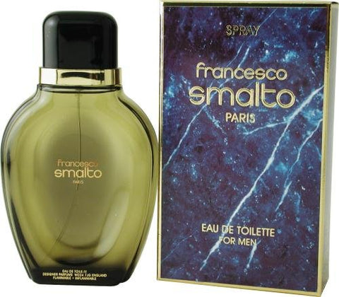 Francesco Smalto By Francesco Smalto For Men. Eau De Toilette Spray 3.3 Ounces (Made in France)