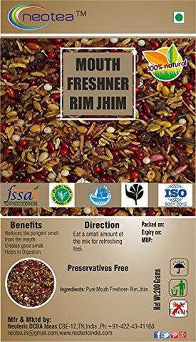 Neotea Mouth Freshener, Rim Jhim Mix - 200g