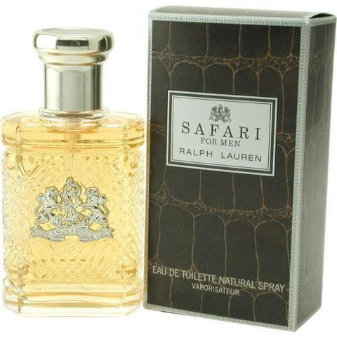 Safari By Ralph Lauren Mens Eau De Toilette (EDT) Spray 4.2 Oz