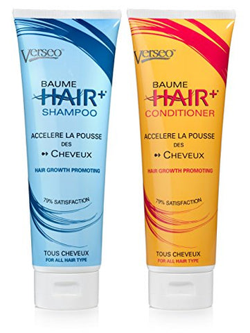 VERSEO Best Hair Plus Growth Shampoo and/or Conditioner Treatment Combo | For Repairing Damaged Hair & Hair Loss