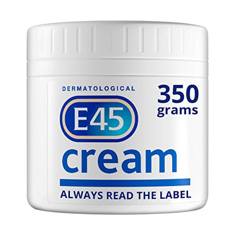 E45 Dermatological Cream Treatment for Dry Skin Conditions (350g)