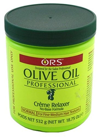Ors Olive Oil Creme Relaxer Normal 18.75 Ounce Jar (555ml) (6 Pack)