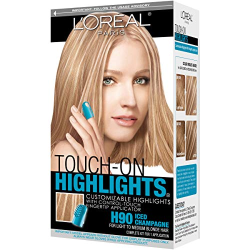 Touch On Highlights Iced Champagne
