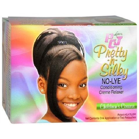 Luster's PCJ Pretty N Silky No Lye Conditioning Relaxer Children's Super,