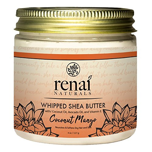Coconut Mango Whipped Shea Butter (8 oz)