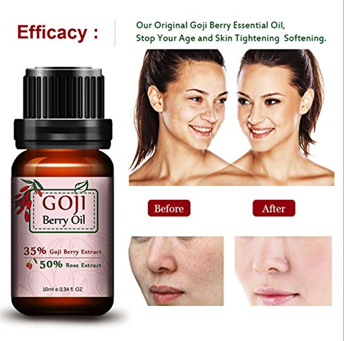 10ml Goji Berry Essential Oil Facial moisturizing Anti-Wrinkle Skin Tightening