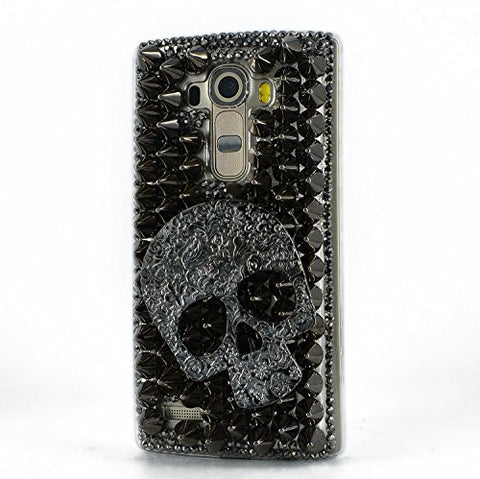 STENES Sparkly Punk Big Skull Case For Huawei Mate 10 Pro - Black