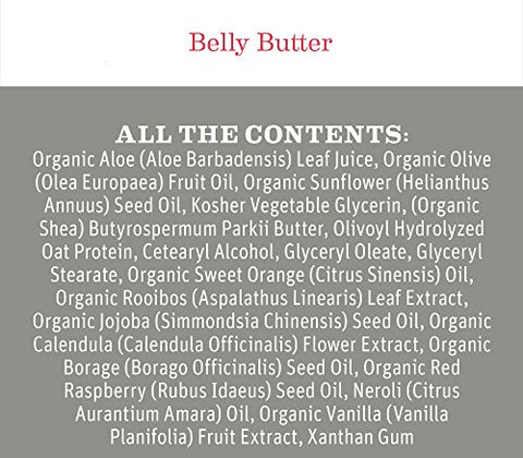 Belly Butter By Earth Mama | Contains Organic Herbs And Oils To Help Ease Skin And Stretch Marks Dur