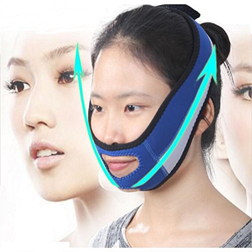 Lanpeed Thin Face Mask Slimming Facial Thin Masseter Double Chin Skin Care Thin Face Bandage Belt