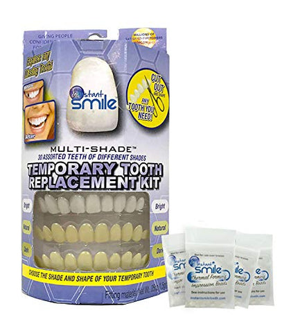 Instant Smile Multi-Shade Patented Temporary Tooth Repair Kit.
