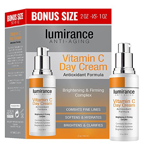 Vitamin C Day Cream, Combats Fine Lines 2oz / 60ml Bonus Size, Combats Fines Lines, Brightens And Cla