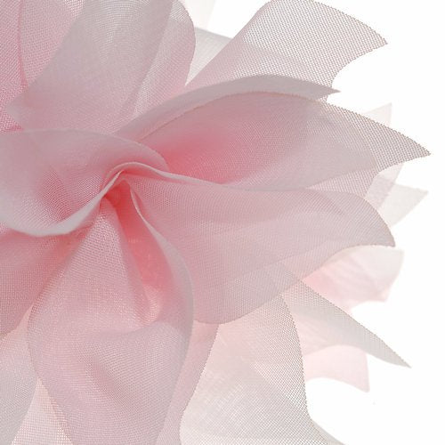 Lady Peony Silk Party Wedding Brooch Corsage Hair Head Clip Headdress Flowers (Pink color&acutiflorous)