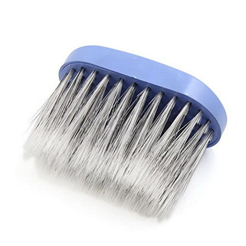 Blue Plastic Fiber Barber Salon Neck Duster Brush Hair Cutting Sweeping Tool by Uptell