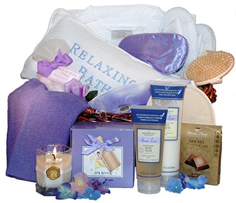 Spa Sister Spa Weekend Getaway Basket