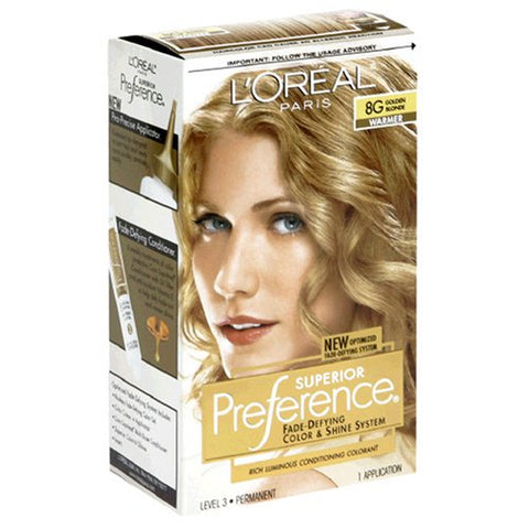 L'Oreal Hair Color Superior Preference Fade-Defying