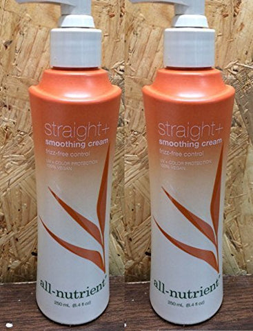 All-Nutrient Straight+ Smoothing Cream 8.4 oz (2 pack)