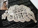 Image of Exquisite Selebrity Wedding Bridal Rhinestone Head Dress