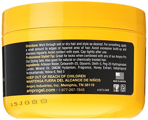 Ampro Shine 'N Jam Conditioning Gel, Extra Hold, 8 Ounce