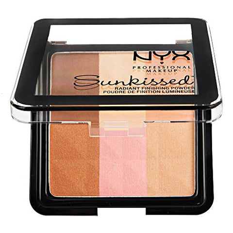 NYX Professional Makeup Radiant Finishing Powder, Sun Kissed, 0.43 Ounce