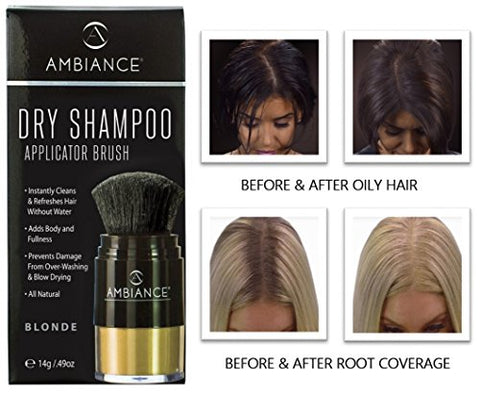 Ambiance Dry Shampooâ??3 In 1 Cleans, Covers & Conceals. Absorbs Oil To Refresh Hair, Boosting Body
