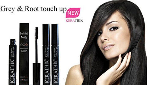 Root & Brow Touch up Grey Free Instant Temporary (Black) RECEIVE 2 for the price of 1
