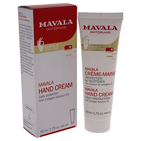 Mavala Hand Cream Daily Care to Moisturize and Protect, 1.75 Ounce