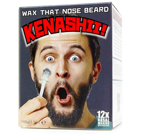 Nose Wax Kit, 100 g Wax, 24 Applicators. The Original and Best Nose Hair Removal Kit from Kenashii. Nose Waxing For Men and Women. 12 Applications, 12 Post Waxing Balm Wipes, 12 Mustache Guards