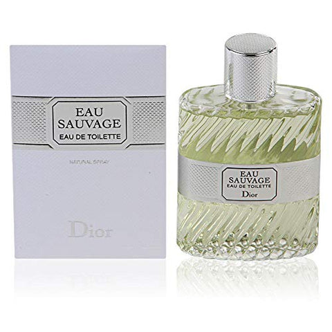 Eau Sauvage By Christian Dior For Men. Eau De Toilette Spray 1.7 Oz.