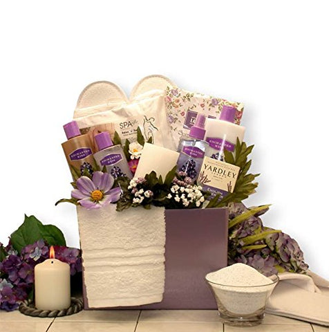 Longing for Lavender Spa Gift Box for Her