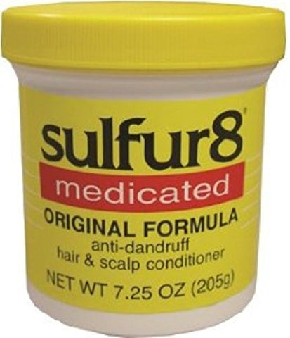 Sulfur8 Medicated Anti-Dandruff Hair and Scalp Conditioner Original Formula, 7.25 oz by Sulfur 8