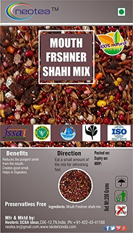 Neotea Mouth Freshener, Shahi Mix - 200g