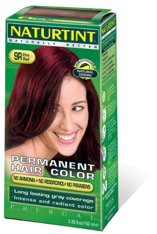 Naturtint Permanent Hair Color - 9R Fire Red, 5.28 fl oz
