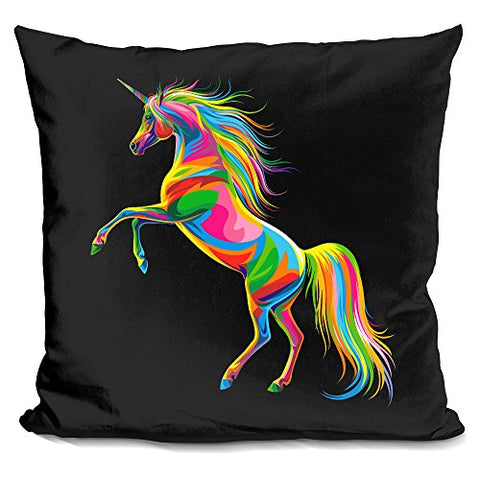 LiLiPi Unicorn Decorative Accent Throw Pillow