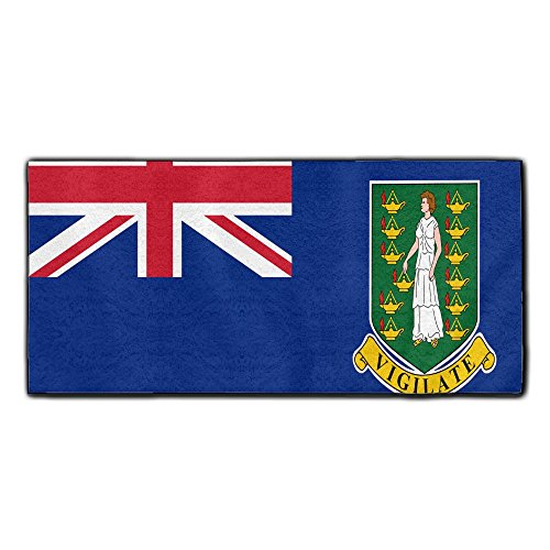 ChunLei Flag Of The British Virgin Islands Washcloths Face Towel Hair Care Towel Gym And Spa Towel Kitchen Dish Towel