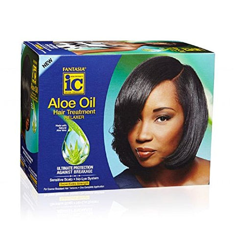 Fantasia Aloe Oil Hair Treatment Relaxer Super