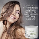 Image of Organic Deep Conditioner Hair Mask: Moisturizing for Shiny Smooth Manageable Hair. Coconut Oil Conditioning Treatment Repairs Dry Damaged Hair. Safe for Color or Keratin Treated Hair. (Made in USA)