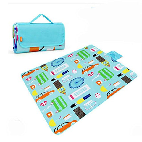 Large Picnic Blanket Beach Mat for Camping Hiking 57 * 79 inch