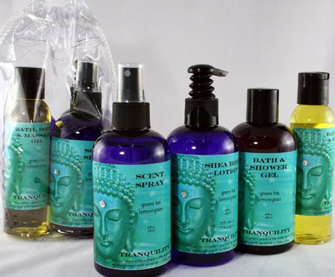 Buddhalicious Enlightenment Spa Bag Gift Set