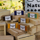Image of Herbal Handmade Goat Milk Soap Sample Pack (Unscented) Horse O Peace Ranch