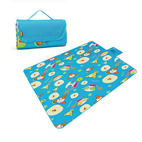 Waterproof Picnic Blanket Beach Mat for Camping Hiking 57 * 79 inch