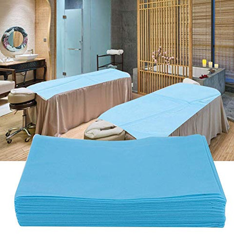 Disposable Bed Sheets Massage Sheets Covers Massage Table Sheet Fabric Bed Cover Beauty Salon Hotels Spa Bed Sheets Bed Pads Underpads Massage Table Paper for Massage Facial Waxing 10PCS