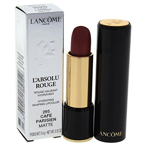Lancome L'absolu Rouge Hydrating Shaping Lipcolor, Cafe Parisien, 0.12 Ounce