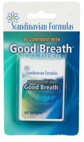 Scandinavian Formulas - Good Breath 60 gels
