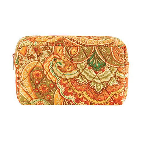 C&F Home Tangiers Orange Paisley Makeup Bag Makeup Bag Tangiers