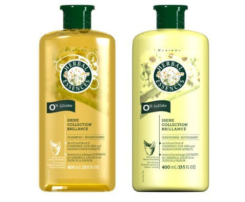 Herbal Essences Shine Collection Brillance Shampoo & Conditioner COMBO 13.5ozPackage May Vary